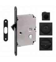 Набор для раздвижных дверей Fimet 3667R черный Для раздвижной системы Ручки купе