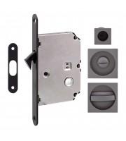 Набор для раздвижных дверей Fimet 3667R антрацит Для раздвижной системы Ручки купе