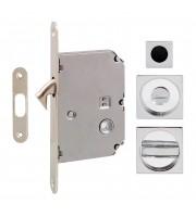Набор для раздвижных дверей Fimet 3667R хром Для раздвижной системы Ручки купе