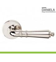Martinelli DANIELA полированный никель Дверные ручки DND by Martinelli (Италия)