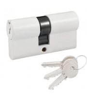 Цилиндр Cortellezzi Primo 116 ключ/ключ белый Цилиндровые механизмы для замков Cortellezzi Primo (Италия)