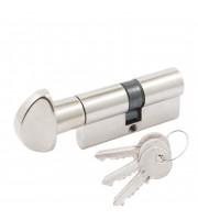 Цилиндр Cortellezzi Primo 117F ключ/поворот. никель Цилиндровые механизмы для замков Cortellezzi Primo (Италия)