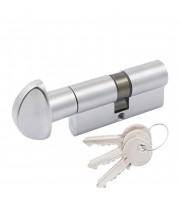 Цилиндр Cortellezzi Primo 117F ключ/поворот. мат хром Цилиндровые механизмы для замков Cortellezzi Primo (Италия)
