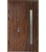 Двери Авеню дуб бронзовый 2 створки Полуторные двери