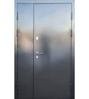 Двери Металл/МДФ Горизонталь Полуторные двери