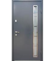 Двери Металл-МДФ стеклопакет Металлические