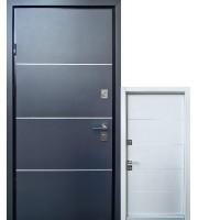 Двери Proof-Giada-D антрацит/вин.белый Входные двери