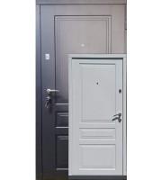 Двери Гранд графит/белое дерево «Redfort» (Украина)