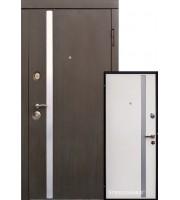 Двери AV-1 Венге/Белый шелк Входные двери
