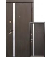Двери AV-1 Венге (уличная) Входные двери