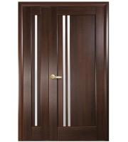 Двери Делла ПО двойная покрыты ПВХ