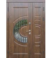Двери Полуторные Греция ковка - улица Полуторные двери