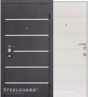 Двери AV-5 Венге/Белый шелк «Steelguard» (Стилгард) Украина