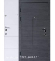 Двери Barca Венге серый/белый мат «Steelguard» (Стилгард) Украина