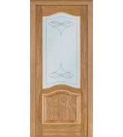 Двери Модель 03 ПО дуб светлый Шпонированные