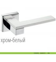 Martinelli ESA хром/белый Дверные ручки DND by Martinelli (Италия)