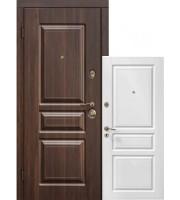 Двери TermoScreen темн.орех/белый мат Входные двери