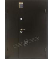 Двери Салют 2 метал/метал Полуторные Полуторные двери