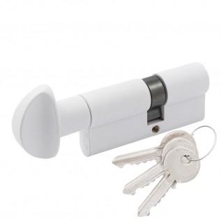 Цилиндр Cortellezzi Primo 117F ключ/поворот. белый