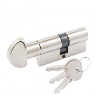 Цилиндр Cortellezzi Primo 117F ключ/поворот. никель