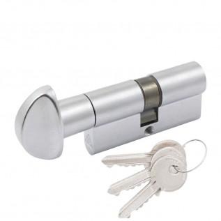 Цилиндр Cortellezzi Primo 117F ключ/поворот. мат хром
