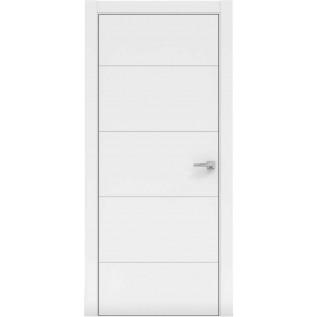 Двери Норд 162 белая эмаль Коллекция Норд «Галерея Дверей»  (Украина)