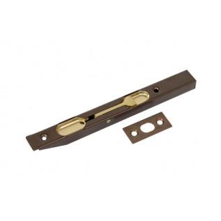 Шпингалет торцевой AGB 150 мм Античная бронза